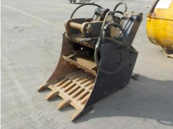 "Andross CB100 32"" Hydraulic Crushing Bucket 65mm Pin to suit 13 Ton Excavator - crusher"