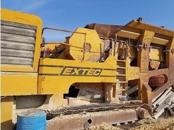 Crusher Extec C 12 Mobile Backenbrecher 1200×700