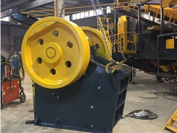 FABO CLK SERIES 60-120 TPH PRIMARY JAW CRUSHER - crusher