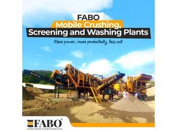 FABO FULLSTAR-60 Crushing, Washing & Screening  Plant - crusher
