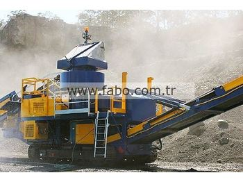 FABO Fabo FTV-900 Tracked Vertical Shaft İmpact Crusher - crusher
