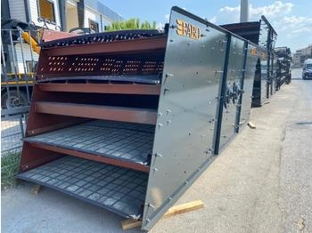 FABO HORIZONTAL VIBRATING SCREEN WITH SHAFT | READY IN STOCK - crusher