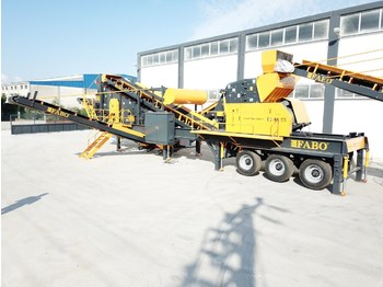 FABO MDMK-01 | 130-200 TPH MOBILE CRUSHING & SCREENING PLANT - crusher