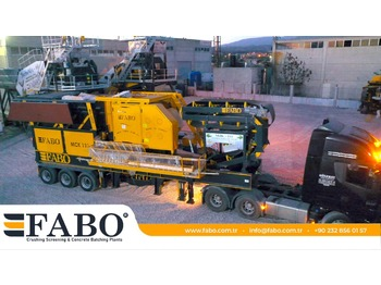 FABO MJK-110 MOBILE PRIMARY JAW CRUSHER READY IN STOCK - crusher