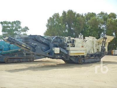 METSO LOKOTRACK 1213S Crawler crusher from United Arab