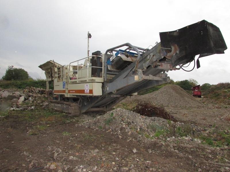 Metso Lokotrack LT105 crusher from United Kingdom for sale