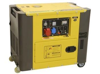 Construction machinery Diversen Stroomgroep stil diesel 6kva