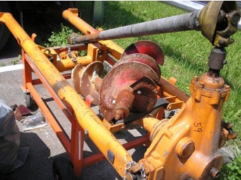 Unimog S - drilling machine