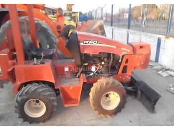 ZANJADORA DITCH WITCH RT40 4X4 - drilling machine