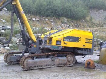atlas copoco roc d7 - drilling machine