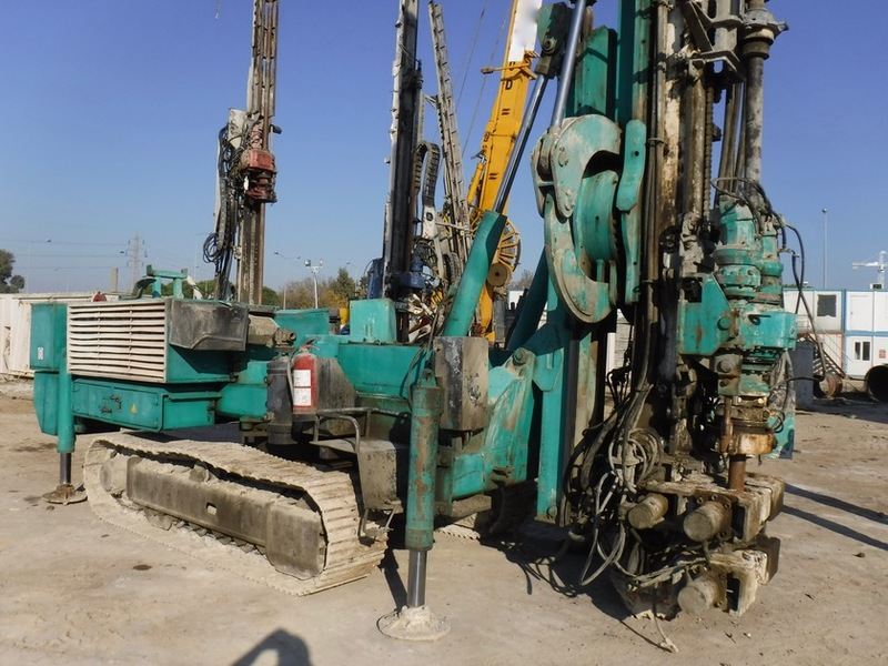Casagrande C8 drilling rig from Turkey for sale at Truck1