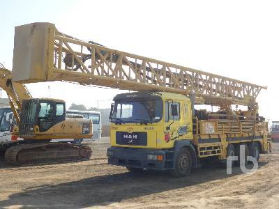 MAN 32 270 8x4 Water Well drilling rig from United Arab Emirates for