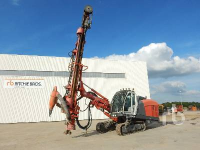 SANDVIK DI550 Crawler Hydraulic drilling rig from France for