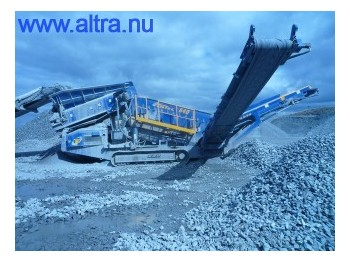 Fintec 640 Screener /Sandvik QE330 - construction machinery