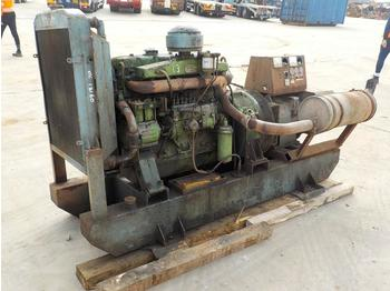 Generator set 50KvA Skid Mounted Generator, 6 Cylinder Engine