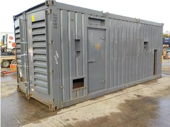 Generator set Aggreko 1750KvA Containerised Generator, Cummins V16 Engine (Spares)