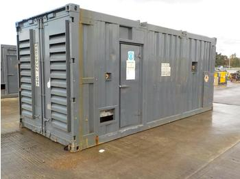 Generator set Aggreko 1875KvA Containerised Generator, Cummins V16 Engine (Spares)