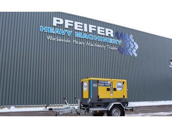 Generator set Atlas Copco QAS 20 S5 Valid inspection, *Guarantee! Diesel, 20
