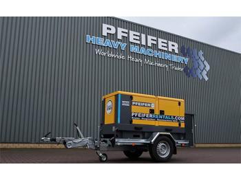 Generator set Atlas Copco QAS 40 ST3 Valid inspection, *Guarantee! Diesel, 4