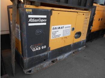 Generator set Atlas copco QAS60