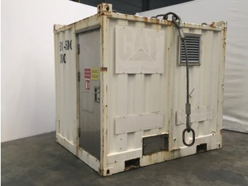 Generator set Caterpillar Transformer 1500 KVA 19-21Kv/690 Volt. Portable in 10ft container including switchboard and control