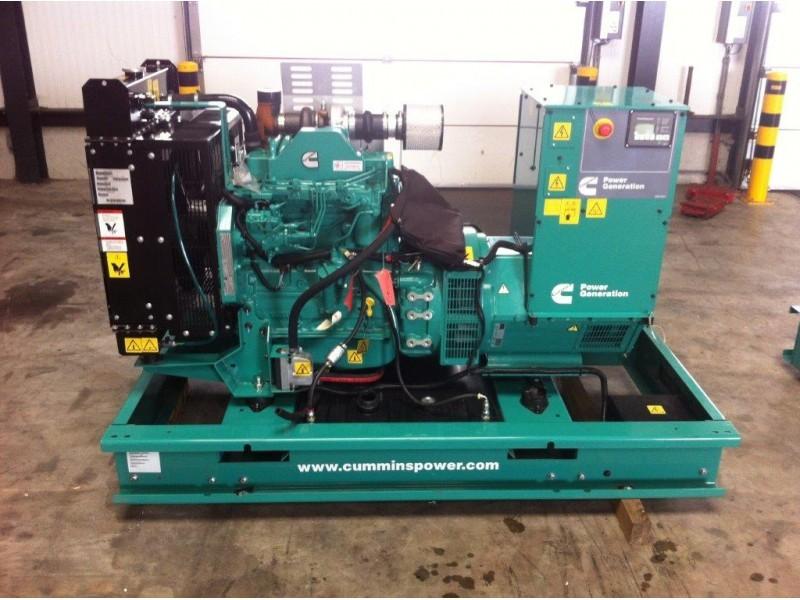 cummins unused c80 d5 80 kva genset dpx 1482 generator set from rh truck1 eu