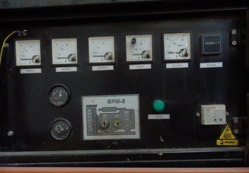 generator set Gesan DZR40