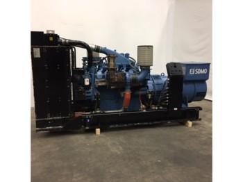 MTU 12V2000 generator set, 660 KVA very complete. Very low hours - generator set
