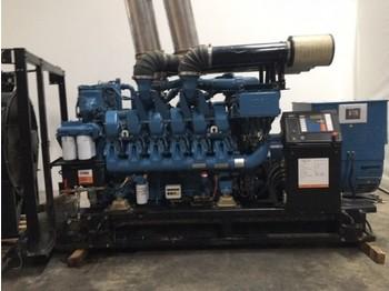 MTU 12v4000 - generator set