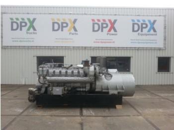 MTU 12v 396 - 980kVA Generator set | DPX-10241 - generator set