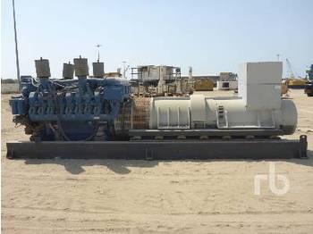 MTU 16V 4000 - generator set