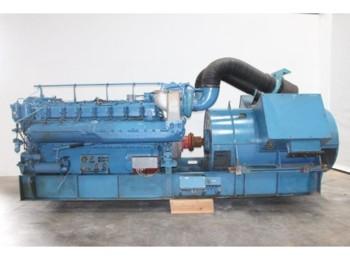 MTU 16 V 396 engine - generator set