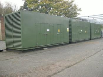 MTU 16v2000 - generator set