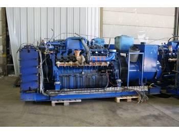 MTU 18V 2000 GENERATOR 1130 KVA - generator set