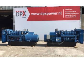 MTU 8V 396 - 660 kVA - DPX-10883  - generator set
