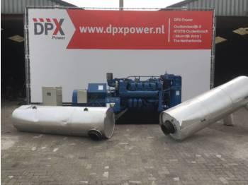 MTU 8V 396 - 660 kVA - DPX-10884  - generator set