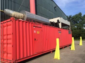 MTU Silent 1600KVA generator 12V4000G23-MTU - generator set