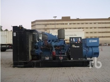 Mtu 825 Kva Skid Mounted - generator set