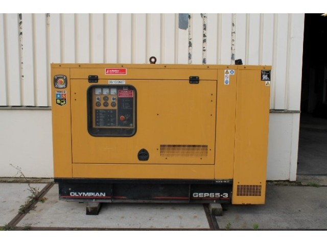 olympian gep65 3 perkins engine 65 kva sns434 generator set from rh truck1 eu