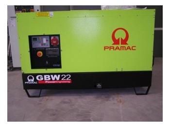 PRAMAC GBW22P (Perkins) - 19 kVA - generator set