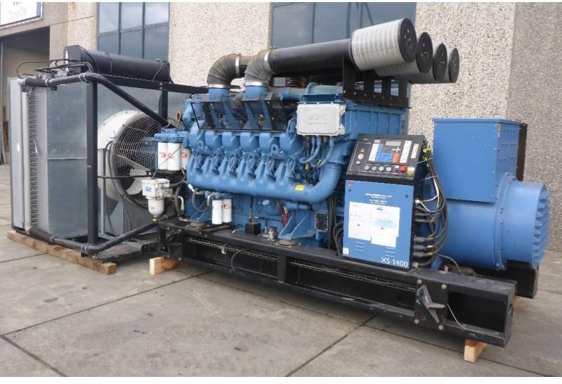 SDMO XS1400K | MTU 12V 4000 | 1540 KVA | SNS1052 generator