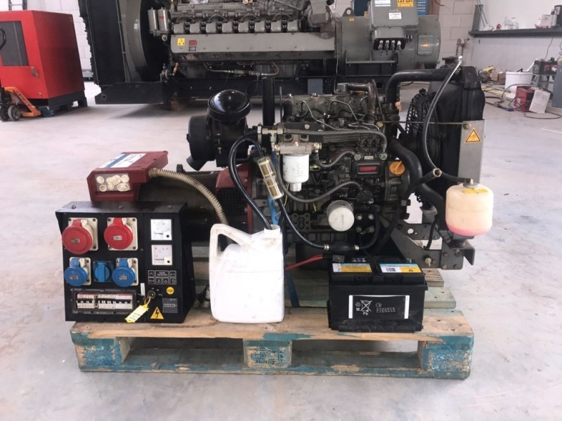 Generator set Yanmar 3TNE88-PG 1500 Rpm genset mooi compact - Truck1 ID:  2494184