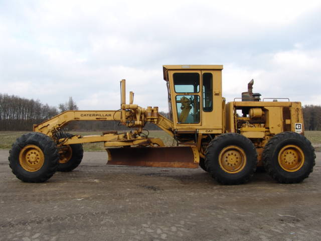 Grader CAT 12G - Truck1 ID: 653484