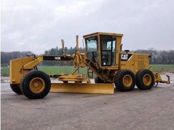 Grader CAT 140K + RIPPER + PUSHBLOCK (Excellent condition!)