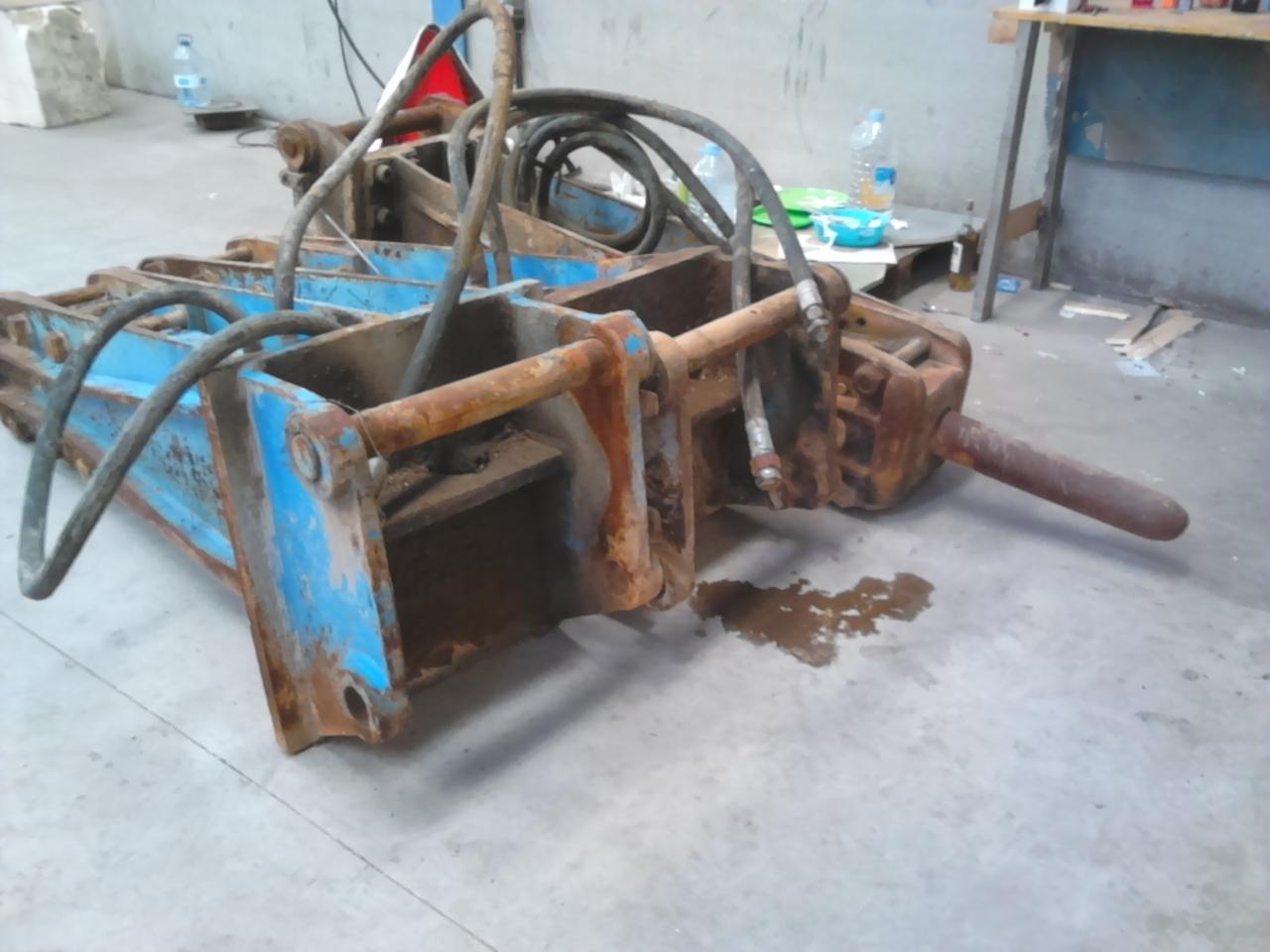 construction machinery Krupp 1400