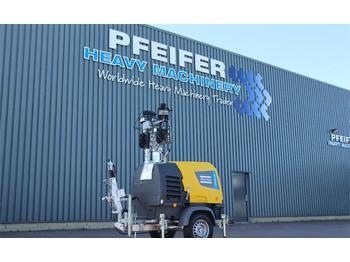 Lighting tower Atlas Copco HILIGHT H6+ NEW, Valid inspection, *Guarantee! Max