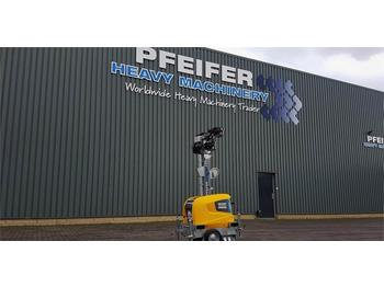 Lighting tower Atlas Copco Highlight E3+ New, Max Boom Height 7m, 10 Lux, Lig
