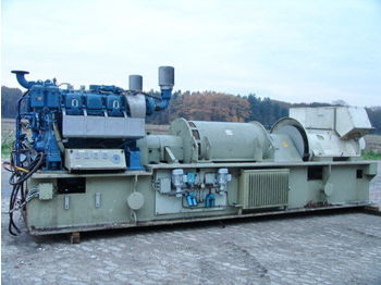 MTU 400KVA ONLY 63 HOURS STROMAGGREGATE  - construction machinery