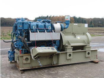 MTU 500KVA ONLY 198 HOURS STROMAGGREGATE  - construction machinery