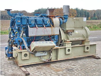MTU 500KVA ONLY 64 HOURS STROMAGGREGATE  - construction machinery